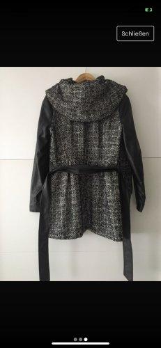 Only Chaqueta con capucha negro-gris