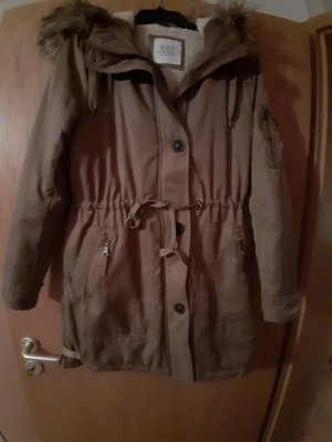 Edc Esprit Oversized Coat light brown