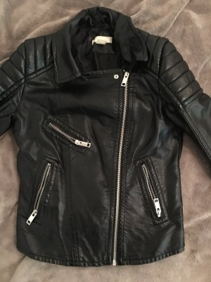 H&M Giacca da motociclista nero