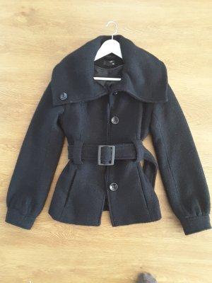 Jacke von H&M Gr 36 Schwarz