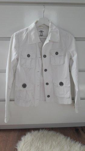 Jacke von H&M L.O.G.G. in 34 weiß Jeanslook