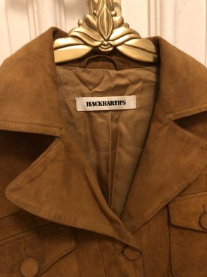 The Hackbarth's Leather Jacket cognac-coloured leather