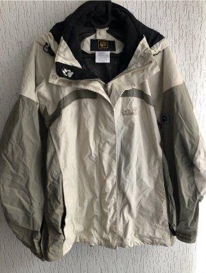 Jack Wolfskin Outdoor Jacket cream-grey brown