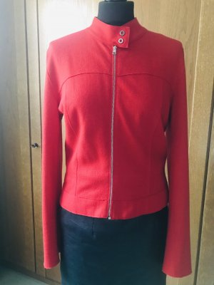marc cain sports Wool Jacket red mohair