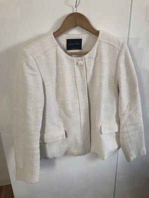 Jacke von Massimo Dutti in Gr. 42 Farbe: weiss | Top Zustand