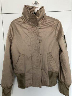 MNG Collection Blouson marron clair