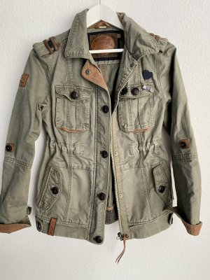 Naketano Military Jacket dark green-brown