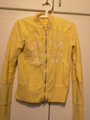 Jacke von Nolita gr.S, gr.36 in gelb, Sweatjacke