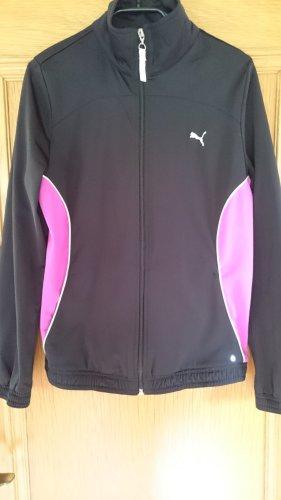 Puma Kurtka sportowa czarny-różowy