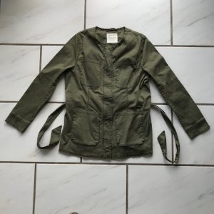 Street One Military Jacket forest green