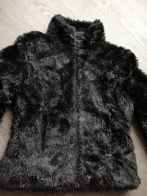 Vero Moda Chaqueta de piel negro