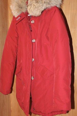 Woolrich Doudoune rouge foncé