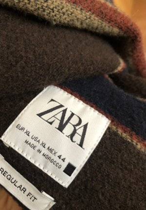 Zara Veste longue multicolore
