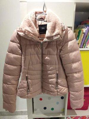 Zara Giacca softshell rosa antico