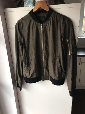 Zara Basic Military Jacket multicolored