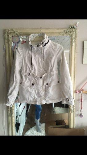 Jacke von Zara in weiß Größe S