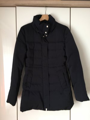 Zara Woman Kurtka zimowa ciemnoniebieski