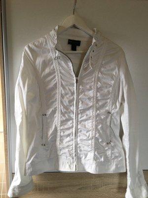 Mango Shirt Jacket white
