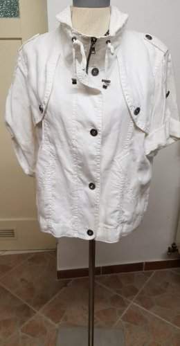 Marc Aurel Veste chemise blanc lin