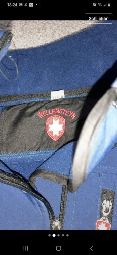 Wellensteyn Kurtka softshell niebieski