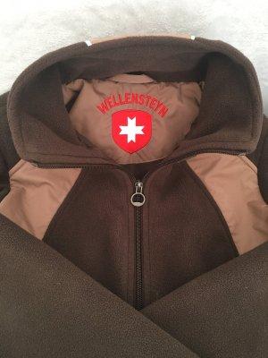 Wellensteyn Fleece Jackets dark brown-beige