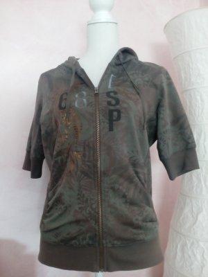 Esprit Sweat Jacket green grey cotton