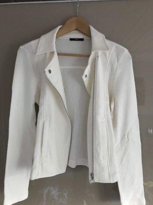 Zero Giacca-camicia bianco sporco