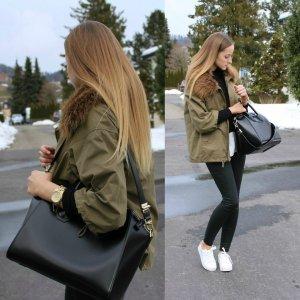 Jacke Zara Übergangsjacke Winter Herbst Mantel Coat Jacke Jacket
