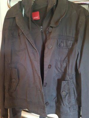 Esprit Double Jacket dark brown cotton