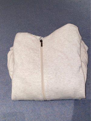 Hooded Vest oatmeal-white