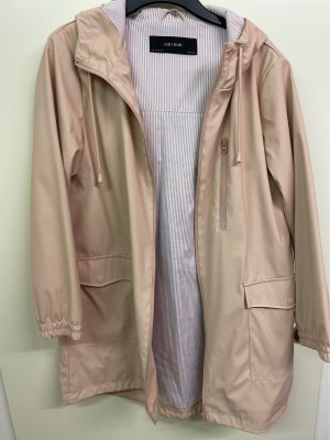 Zara Basic Imperméable or rose-blanc
