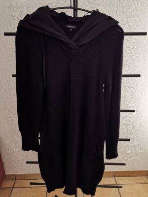 Liebling Vestido con capucha negro