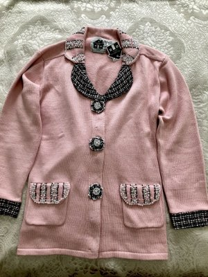 Knitted Blazer light pink