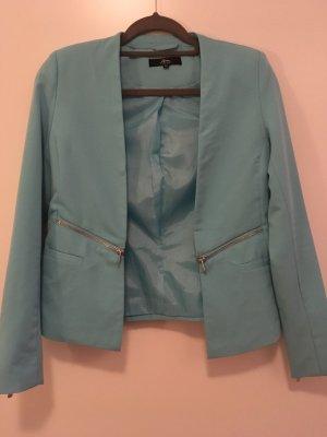Jacket in Türkis