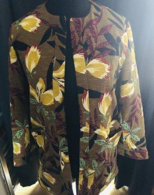 Jacket Longversion Baumwolle Erdfarben