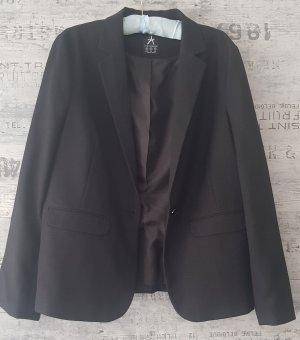 Jacket schwarz mit leichter Musterung