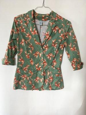 Wet Bluzka kimono jasnozielony Wiskoza