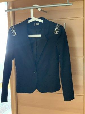H&M Blazer in jeans blu scuro