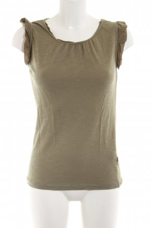 Jackpot Basic Top khaki Casual-Look