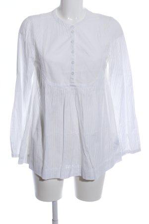Jackpot Langarm-Bluse weiß Elegant