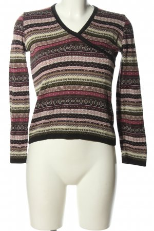 Jackpot Norwegian Sweater allover print casual look