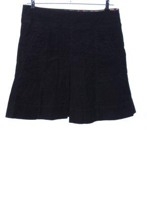 Flared Skirt black elegant