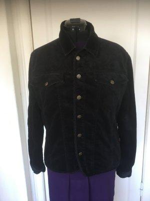 Jackpot Denim Jacket black cotton