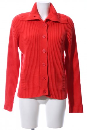 Jackpot Strickjacke rot Casual-Look