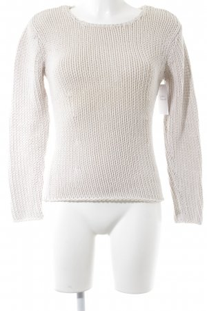 Jackpot Strickpullover creme Street-Fashion-Look