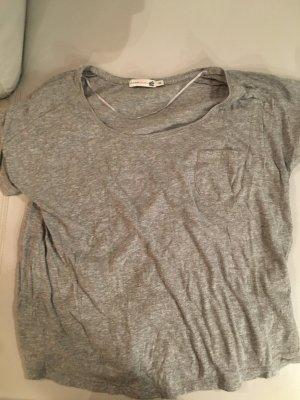 JACKPOT T-Shirt kurzarm, grau meliert, Gr. XXL, oversize, weit geschnitten, NEU und ungetragen