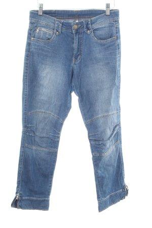 Jacky-O Jeans 7/8 bleu style décontracté