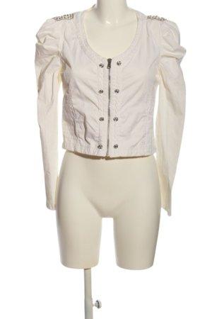 Jacky-O Bolero bianco stile casual