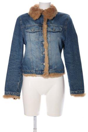 Jacky-O Veste en jean bleu style décontracté