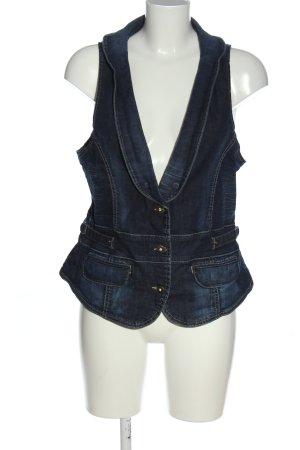 Jacky-O Denim Vest blue casual look